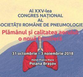 Al XXV-lea Congres Național al Societății Române de Pneumologie